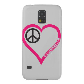 Customize Peace love Gymnastics Phone Cases