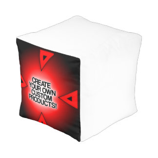 Customize / Personalize / Create your own Cube Pouf