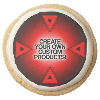 Customize / Personalize / Create your own Round Premium Shortbread Cookie