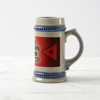 Customize / Personalize / Create your own 18 Oz Beer Stein
