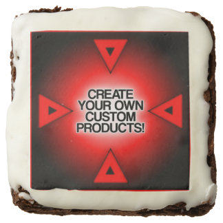 Customize / Personalize / Create your own Square Brownie