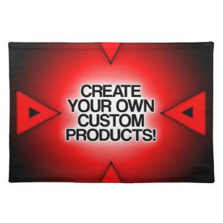 Customize / Personalize / Create your own Cloth Place Mat