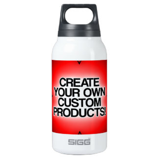 Customize / Personalize / Create your own 10 Oz Insulated SIGG Thermos Water Bottle