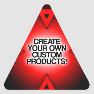 Customize / Personalize / Create your own Triangle Sticker