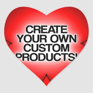 Customize / Personalize / Create your own Heart Sticker
