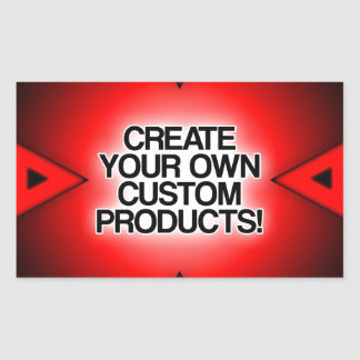 Customize / Personalize / Create your own Rectangular Sticker