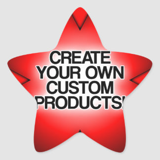Customize / Personalize / Create your own Star Sticker