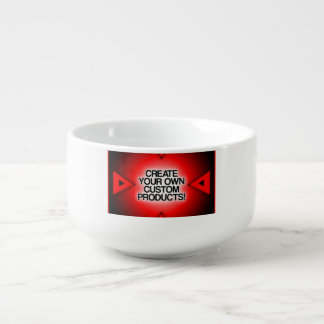 Customize / Personalize / Create your own Soup Bowl With Handle