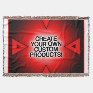 Customize / Personalize / Create your own Throw