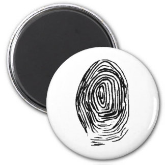 Customize Personalize These Fingerprint Gift Gifts 2 Inch Round Magnet