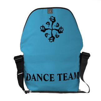 Customize Personalized dance team travel gear Messenger Bags