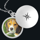 "customize pet dog photo silver plated necklace<br><div class=""desc"">customize pet dog photo.Replace the template image with the photo of your own pet dog. Place the name of your own dog and have a fun gift for somebody you love.</div>"