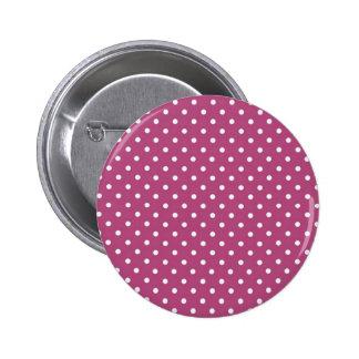 Customize Pink Polka Dot Button