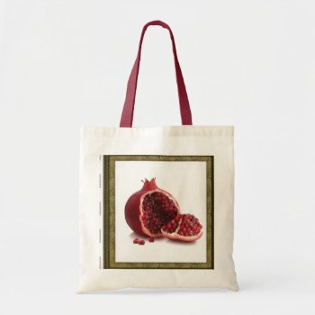 Customize Pomegranate Tote by creativeconceptss at Zazzle