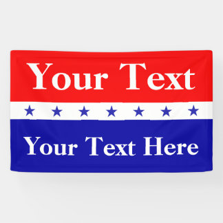 Customize President Election Banner