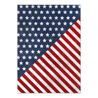 Customize Prodawesome USA flag grunge stars Card
