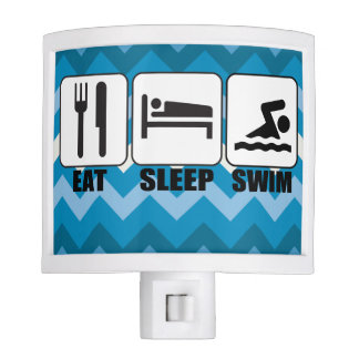 Customize ProdEat Sleep Swim Gear Night Light