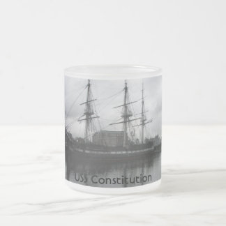 Customize Product 10 Oz Frosted Glass Coffee Mug