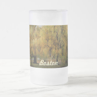 Customize Product 16 Oz Frosted Glass Beer Mug
