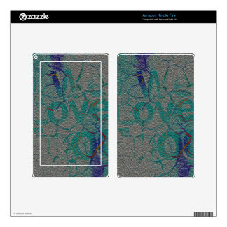 Customize Product Decal For Kindle Fire