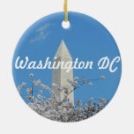 Customize Product Double-Sided Ceramic Round Christmas Ornament