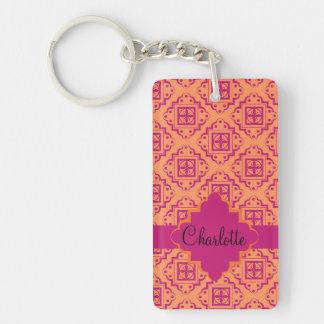 Customize Product Double-Sided Rectangular Acrylic Keychain