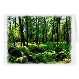 """Customize Product""""Ferny Forest"""" Card"""