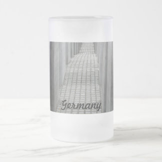Customize Product Frosted Glass Beer Mug