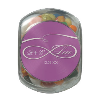 Customize Product Jelly Belly Candy Jar