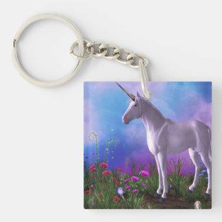 Customize Product Single-Sided Square Acrylic Keychain