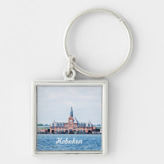 Customize Product Silver-Colored Square Keychain