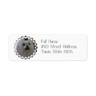Customize Product Return Address Label