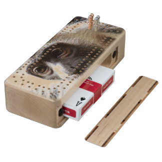Customize Product Wood Cribbage Board