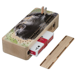 Customize Product Maple Cribbage Board