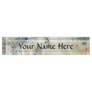 Customize Product Nameplates