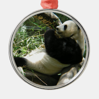Customize Product Round Metal Christmas Ornament