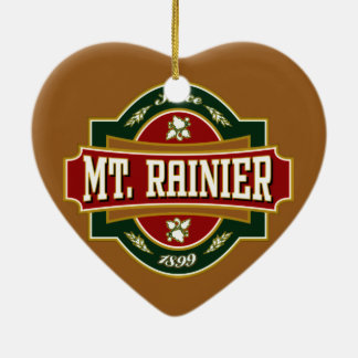 Customize Product Double-Sided Heart Ceramic Christmas Ornament