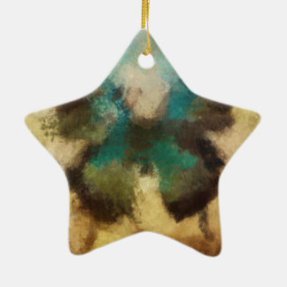 Customize Product Ceramic Star Ornament