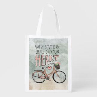 Customize Product Reusable Grocery Bag