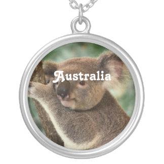 Customize Product Round Pendant Necklace