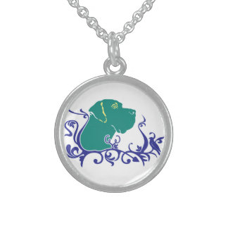 Customize Product Round Pendant Necklace