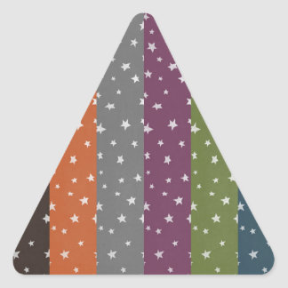 Customize Product Triangle Sticker