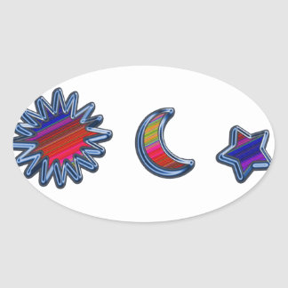 Customize Product Oval Stickers