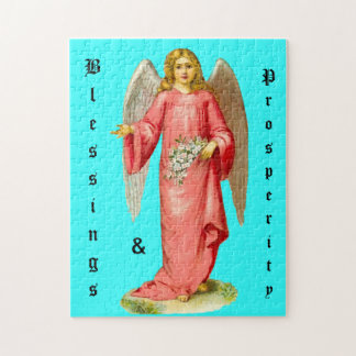 Customize Product - Victorian Angel Blessings Jigsaw Puzzle