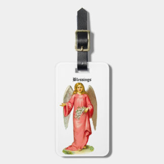 Customize Product - Victorian Angel Blessings Bag Tag
