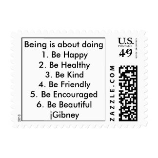 Customize ProductBeing is about doing jGibney The Postage