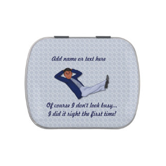 Customize ProductBusy Man Candy Tin