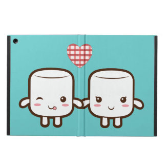 Customize ProductCute Marshmallow couple iPad Air Cover