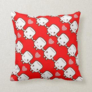 Customize ProductCute Marshmallow couple Pillow