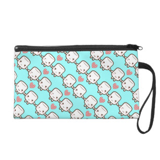 Customize ProductCute Marshmallow couple Wristlet